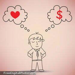 Ganhar dinheiro e fazer o que ama