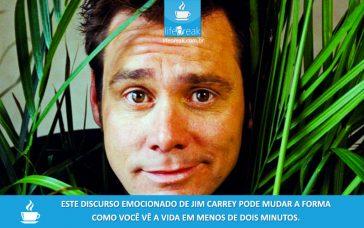 Vídeo: Discurso emocionante de Jim Carrey