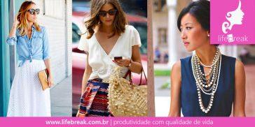 Roupas para o verão: Monte seu look com elegância