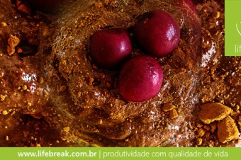 Receita funcional: Falso mousse de chocolate