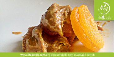 Sem açúcar: Pasta de amendoim com damasco