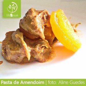 Pasta de amendoim com damasco - Por Aline Guedes