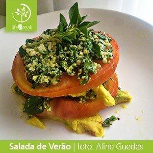 Salada de Verão - Por Aline Guedes