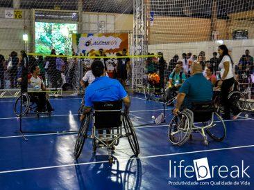 Atletas cadeirantes