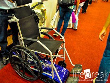 Motores e gadgets para cadeirantes