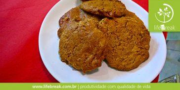 Receita de cookie de pasta de amendoim