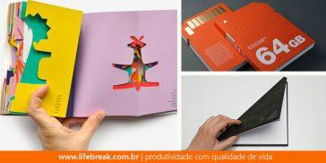 Sete livros com designs criativos e malucos