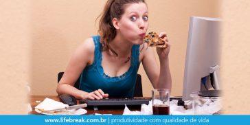Não alimente seu stress com comida
